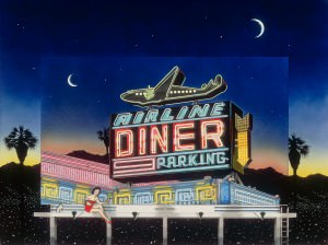 Airline Diner by Jonathan Freyer