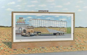 Truck Billboard by Jonathan Freyer
