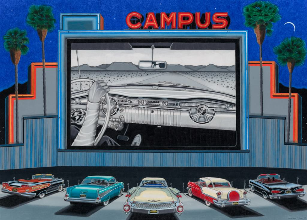 At The Drive-In by Jonathan Freyer