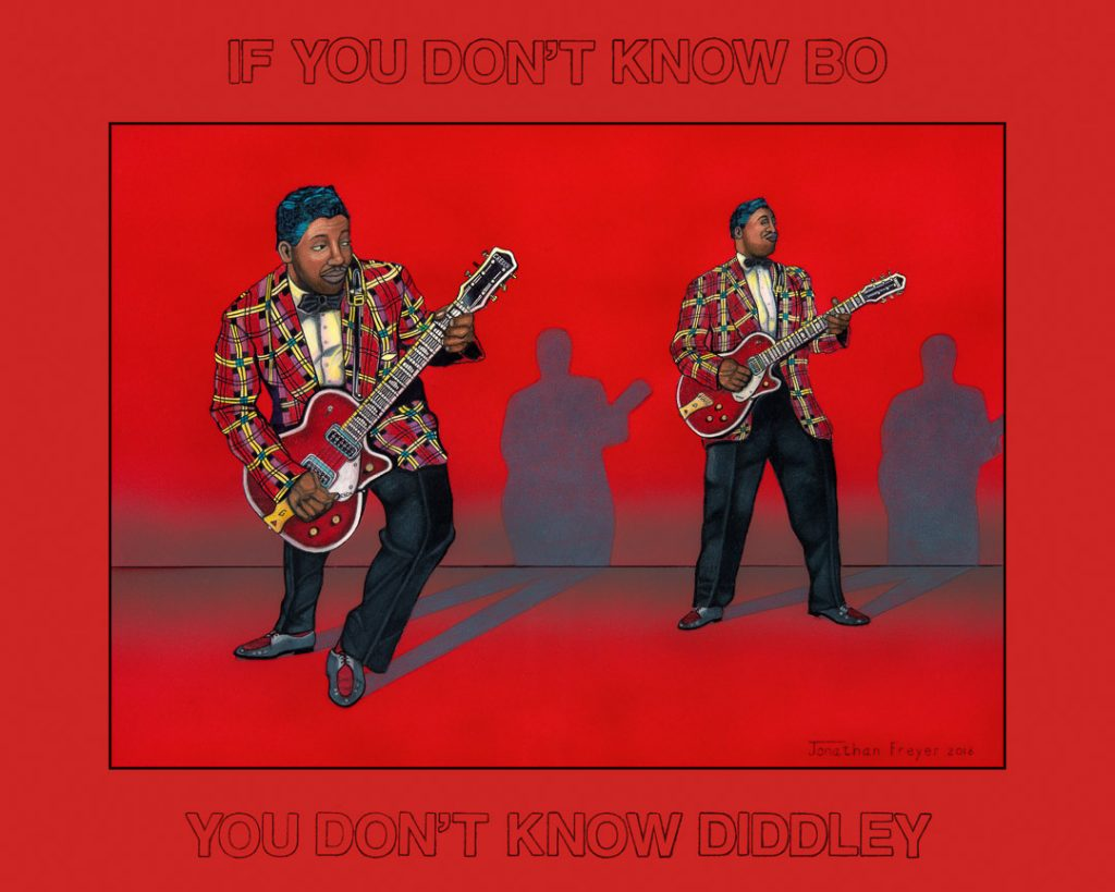 Bo Diddley - Jonathan Freyer - 2016